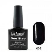 Oja semipermanenta OneStep Lila Rossa Professional 7.3ml OLROS003