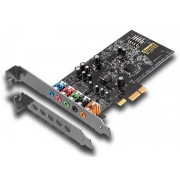 Звуковая карта Creative Sound Blaster Audigy FX PCI-eX int. Retail 70SB157000000