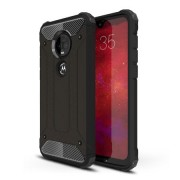 Olixar Delta Armour Protective Case For The Motorola Moto G7 Plus (Black, Special Import)