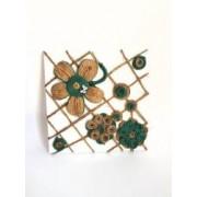Tablou canvas handmade flori