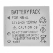 Paquete de baterias de iones de litio compatible con NB4L 3.7V 1200mah para IXUS 30/40/50/55 / ??IZOOM