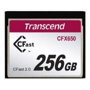 Transcend CFast-kort Transcend CFX650 256 GB
