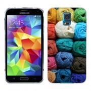 Husa Samsung Galaxy S5 Mini G800F Silicon Gel Tpu Model Ghem Ata Colorata