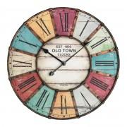 Старинен стенен часовник с метален обков 'Vintage' - 60.3021