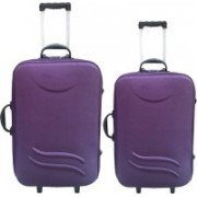 Novelty Novelty-2018-suitcase Expandable Check-in Luggage - 24 inch(Purple)