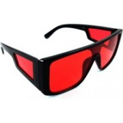 Alsace Coeur Clubmaster Sunglasses(Red)