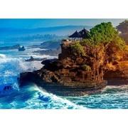 HT0230GCZ Bali Rompecabezas Grande De 1000 Piezas, Juego De Rompecabezas para Niños Adultos, Rompecabezas De Material Reciclado De Alta Calidad