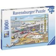 Puzzle Santier pe aeroport, 100 piese