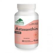 Astaxanthin forte 15 mg (30 cps) - antioxidant capilar, eficient in tratarea bolilor Alzheimer si Parkinson