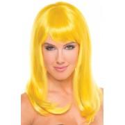 Be Wicked Wigs Hollywood Pruik - Geel