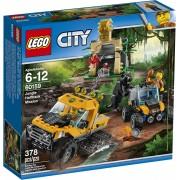 LEGO City 60159 Djungel Uppdrag Med Halvbandvagn