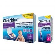 Clearblue Advanced Fertilitetsmonitor, 20+4 st teststickor