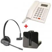 Plantronics Pack oficina: auricular CS 540 + teléfono PK 111