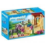 Playmobil Cavalo Árabe com estábulo 6934Multicolor- TAMANHO ÚNICO