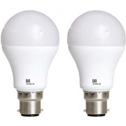 Pack of 2 Alpha 5 Watt Warm White B22 Cap Type LED Bulb