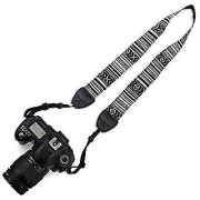 Cam Cart National Wind Cotton Shoulder Neck Stripe Strap Belt For Panasonic Sony Nikon Canon SLR DSLR Camera