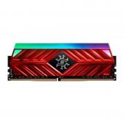 Memorie ADATA XPG Spectrix D41 Red RGB 8GB DDR4 3000MHz CL16