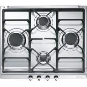 Smeg Classic SE60SGH3 4 Burner Gas Hob - Stainless Steel