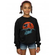 Absolute Cult DC Comics Girls Wonder Woman 84 Sunset Battle Sweatshirt Blanc 3-4 Years