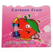 Carte de colorat cu fructe
