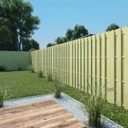 vidaXL Ограден панел, 180x180 см, FSC импрегнирана борова дървесина