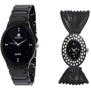 TRUE CHOICE NEW IIK Collction Black Men and Zulla Bleck Women Watches Couple for Men and Women