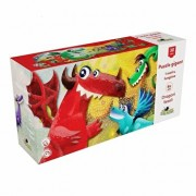 Puzzle Gigant - Dragoni veseli, 30 piese