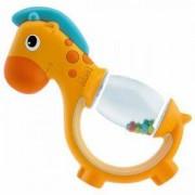Бебешка дрънкалка Полка Дот - Жирафче, Chicco, 072249