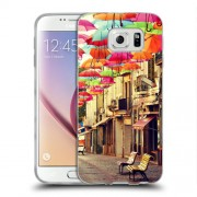 Husa Samsung Galaxy Note 5 N920 Silicon Gel Tpu Model Vintage Umbrella