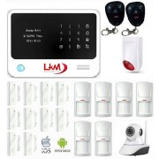 KIT XL G90 Antifurto e Telecamera LKM Security® WiFI e GSM