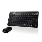 RAPOO 8000, комплект клавиатура и мишка, черни, USB