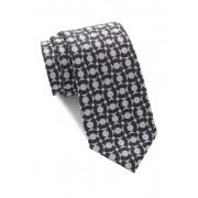 Ben Sherman Kirkwood Patterned Tie BLACK