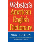 Webster's American English Dictionary, Paperback/Inc. Merriam-Webster
