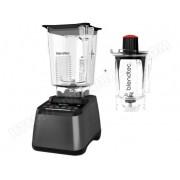 BLENDTEC Pack promo Blendtec Designer 725 Gris Métal + Twister Jar 800 ml - Blender