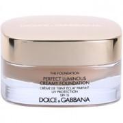 Dolce & Gabbana The Foundation Perfect Luminous Creamy Foundation кадифен фон дьо тен за озаряване на лицето цвят No. 78 Beige SPF 15 30 мл.