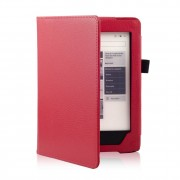 Shop4 - Kobo Aura H2O Edition 1 (2014) Hoes - Book Cover Lychee Rood
