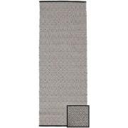 RugVista Tapis Diamond - Noir 80x250 Tapis Moderne, Couloir