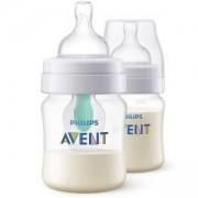 Комплект бебешки шишета 125 мл. Philips-Avent, Classic Anti-Colic AirFree, 0760087
