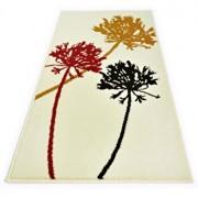 Covor Decorino, Floral, polipropilena, C-020117, 60x110 cm, Bej