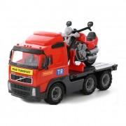 Volvo motor szállító kamion