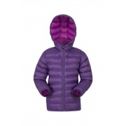 Mountain Warehouse Seasons- pikowana kurtka dziecięca - Purple