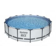Bestway Komplett familjepool - Steel Pro MAX pool 14.970L 457x107 cm - Bestway familjepool 56488