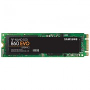 Твърд диск ssd samsung 860 evo series, 500 gb 3d v-nand flash, mz-n6e500bw