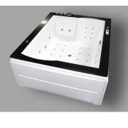 Wellis Nera Maxi E-Drive Touch masszázsrendszer 185x150x72,5cm 680L