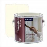 GAMMA Extra Dekkend lak roomwit hoogglans 2,5 liter