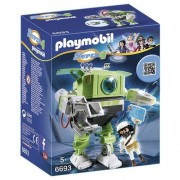 PLAYMOBIL Super 4 Cleano Robot Building Kit
