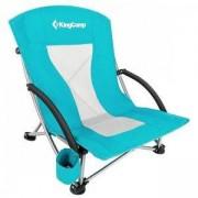 Стол за къмпинг KING CAMP Deluxe, сгъваем, светлосин, MAS-KC3841-cyan