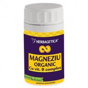Magneziu Organic, 30/60/120 capsule