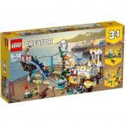 LEGO Creator roller coaster-ul piratilor 31084