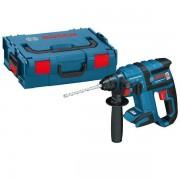 Perforateur burineur sans-fil SDS-Plus 18V Li-Ion livré sans batterie ni chargeur moteur sans charbon en coffret L-BOXX GBH 18 V-EC BOSCH 0611904003
